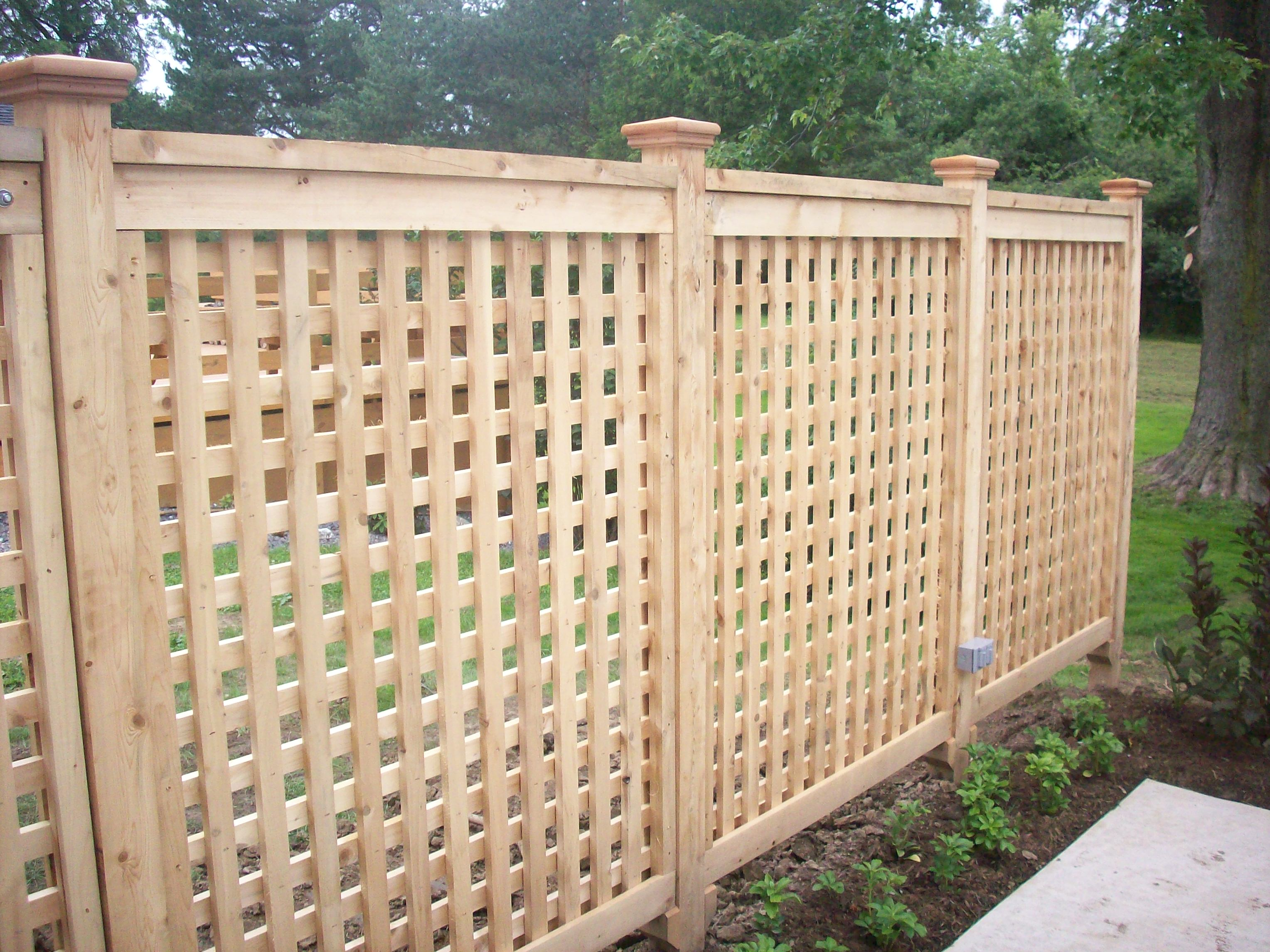 Yankee fence quality home and commercial fencing products